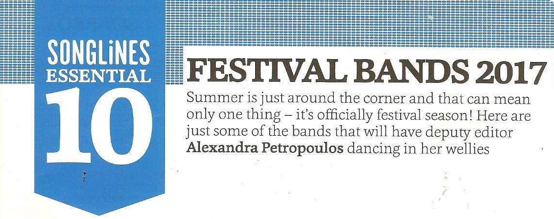 songlines essential 10 festival bands
