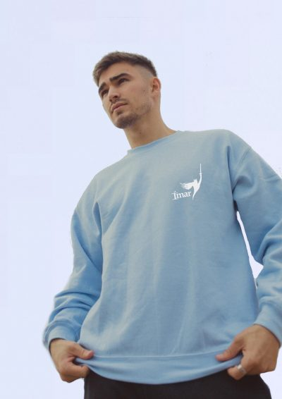 Blue Sweatshirt Male 2